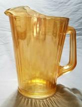 Vintage Jeannette Marigold Paneled Water Pitcher (circa 1950s) - $10.00