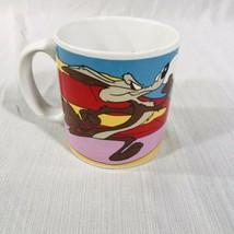 1993 Warner Bros. Wiley Coyote Roadrunner Mug - $14.80
