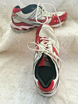 Mizuno Wave Bolt 3 Womens size 9 M Volleyball Shoes White Red - $20.02