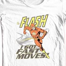 The Flash I Got Fast Moves T-shirt super hero DC comics DCO583 image 1