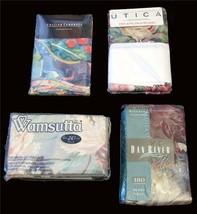 2 VTG Standard or King Varied Designs Floral Abstract Pillowcases NIP U-Pick - $19.99+