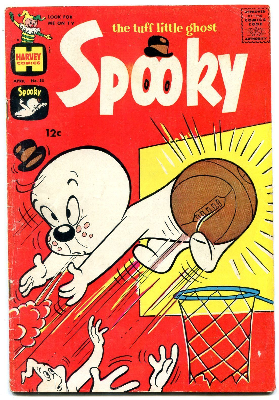 SPOOKY #85 1965-HARVEY COMICS-CASPER FRIENDLY GHOST VG