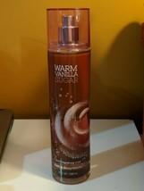 Bath & Body Works WARM VANILLA SUGAR Fragrance Mist Spray 8 fl oz. - $14.20