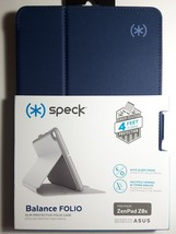 Original SPECK Balance Folio Marine Blue Case Cover for ASUS ZenPad Z8s - $8.95