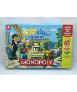 Monopoly Cityville 2012 Board Game Hasbro 100% Complete Excellent Plus C... - $27.28