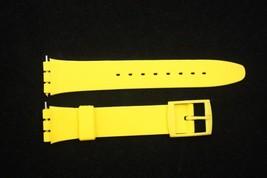 17mm Hombres Amarillo Repuesto Correa para Reloj de Pulsera para Swatch ... - $9.34