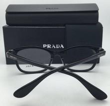 ff5ad7116103 New PRADA Eyeglasses VPR 23S 1AB-1O1 52-17 Black Cat-Eye Frame