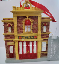 NWT 2020 Disney World Exclusive Disneyland Fire Department Ornament Mini... - $49.49