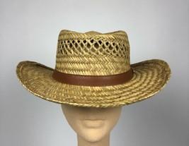 Dorfman Pacific Hat Co. Western Straw Handmade Hat Men's Size Medium - $16.14