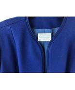 Vintage Pendleton Women Size 40 Dress Coat Jacket Blue 100% Virgin Wool - $24.75