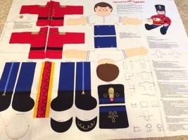 VIP Cranston Little Drummer Boy Fabric Panel Uncut Sew Christmas Pillow - $9.49