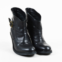 Fiorentini + Baker Black Leather High Heel Buckled Ankle Boots SZ 36 - $205.00