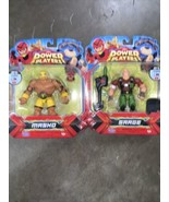 """Power Players Action Figures masko & Sarge 5""""Figures Lot of 2 New Sealed - $28.70"""