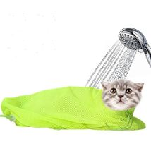 Pet Cat Cleaning Grooming Bag Add Hat Multi-function Bath Nail Cutting P... - $19.99