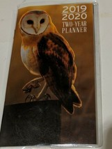 """2019-2020 2-Year Pocket Planner """"Barn Owl"""" Space For School, Work,Appoin... - $2.00"""