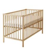 IKEA Sniglar Crib Beech White, Solid Beech Wood, 502.485.41 - NEW  - $267.29