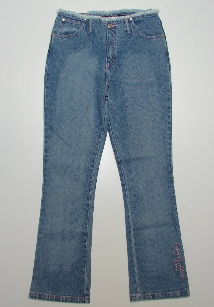 e81fc336b4cd5 S l1600. S l1600. Previous. Baby Phat Stretch Blue Denim Jeans Youth Girls  16 Waist 29 NWT $45