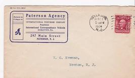 PATERSON AGENCY INTERNATIONAL TEXTBOOK COMPANY PATERSON, NJ 4/11/1904 - $1.78