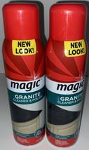 (2) Magic Granite Cleaner & Polish Aerosol 17 oz Discontinued - $60.78