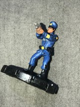 Heroscapes Super Hero Marvel Figure Game Piece Cake Topper Gotham Officer - $14.85