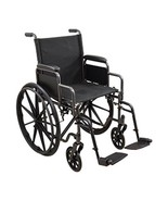 "Kona Dual Axle Wheelchair Removable Desk-Length Arms 8""x1"" Rubber Front ... - $165.63+"