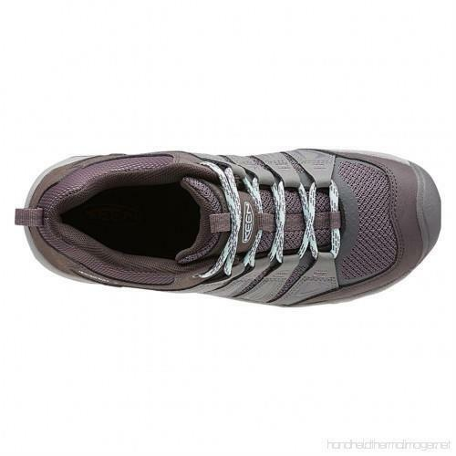 Keen Oakridge Gray/Clear Aqua Women's Hiking Shoes Sz 8 M ***New*** image 5