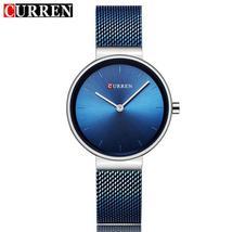 CURREN Women Watch Women Quartz Watches Ladies Luxury Female Wristwatches Thin M - $44.70