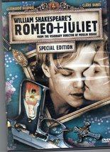 William Shakespear Romeo & Juliet  Special Edition (DVD) - $6.50