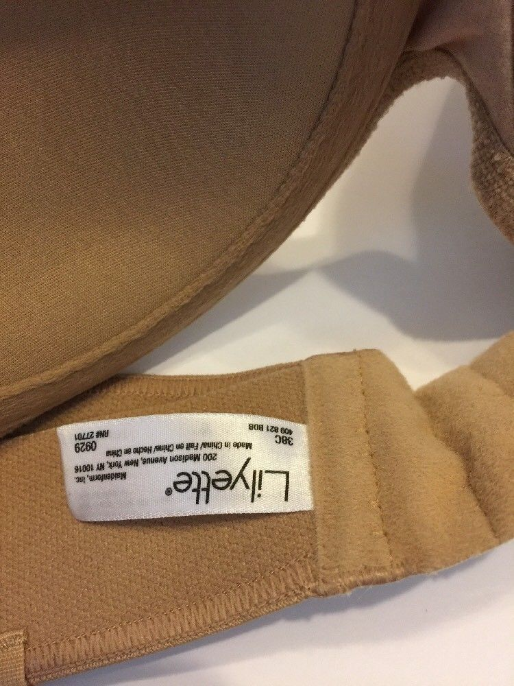ace510cd19 Lilyette Strapless Bra Beige Underwire Padded and 8 similar items