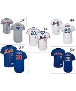 Men's New York Mets #20 Pete Alonso Flex Base Series Jersey - $40.99