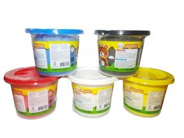 Donerland Honey Clay 5-Color Set 0.4lbs 200g (Red, Blue, Yellow, White, Black) image 4