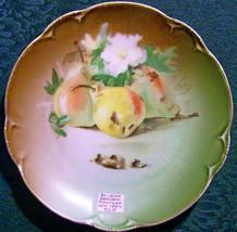 """Antique Hutschenreuther Bavarian """"Charlotte"""" HUT1400 Fruit Plate - $50.00"""