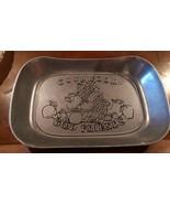 "Wilton Armetale ""Good Food Good Friends"" Large Bread Serving Tray 10.5"" ... - $9.99"