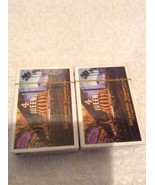 2 New Bridge size deck of playing cards advertising 4 Queens casino, Las... - $11.95