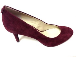 MICHAEL Michael Kors MK Flex Mid Pumps Shoes Merlot Suede Shoes Size 6.5 - $62.04