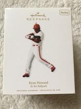Hallmark Keepsake Ryan Howard At The Ballpark Christmas Ornament New In Box - $5.93