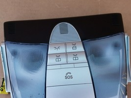 05-11 Mercedes R171 SLK280 SLK350 Dome Vanity Map Light W/ SOS image 2