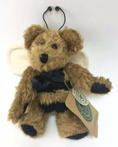 """Boyds Bears """"Bud Buzzby"""" Plush Jointed Bee Bear Ornament Bee Wings - $7.91"""