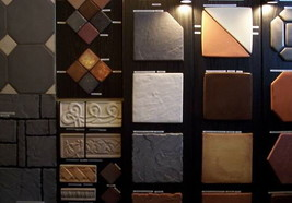 """Tile Molds 10 Olde Country Concrete Make Hundreds of 9X9"""" Tiles #0900 @ Pennies image 2"""