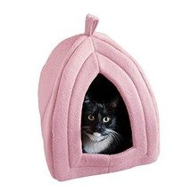 Bed Pet Dog House Cat Warm Soft Kennel - $34.61