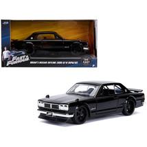 Brians Nissan Skyline 2000 GT-R (KPGC10) Black Fast & Furious Movie 1/32... - $18.53