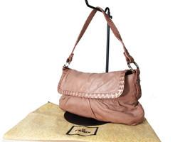 Authentic FENDI Selleria Leather Pink Shoulder Bag FS13997L - $157.41