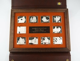 1973 Norman Rockwell Fondest Memories 10x .925 de Plata Barras Primeros ... - $1,687.52