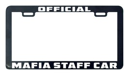 Official mafia staff car license plate frame holder tag - $5.99