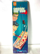 Impact Game Ideal Toys Track the Ball Swing the Weight 1971 Missing Pieces - £47.23 GBP