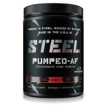 Steel Supplements PUMPED-AF Stim-Free Pump Formula, 2 Flavors, New - $41.99