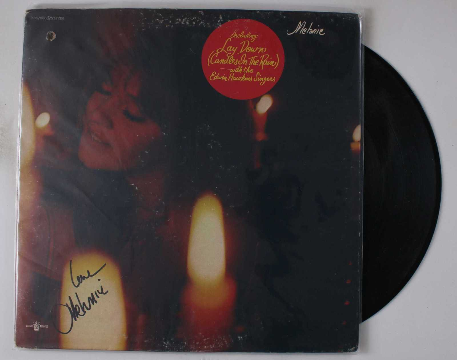 Primary image for Melanie Signed Autographed Record Album