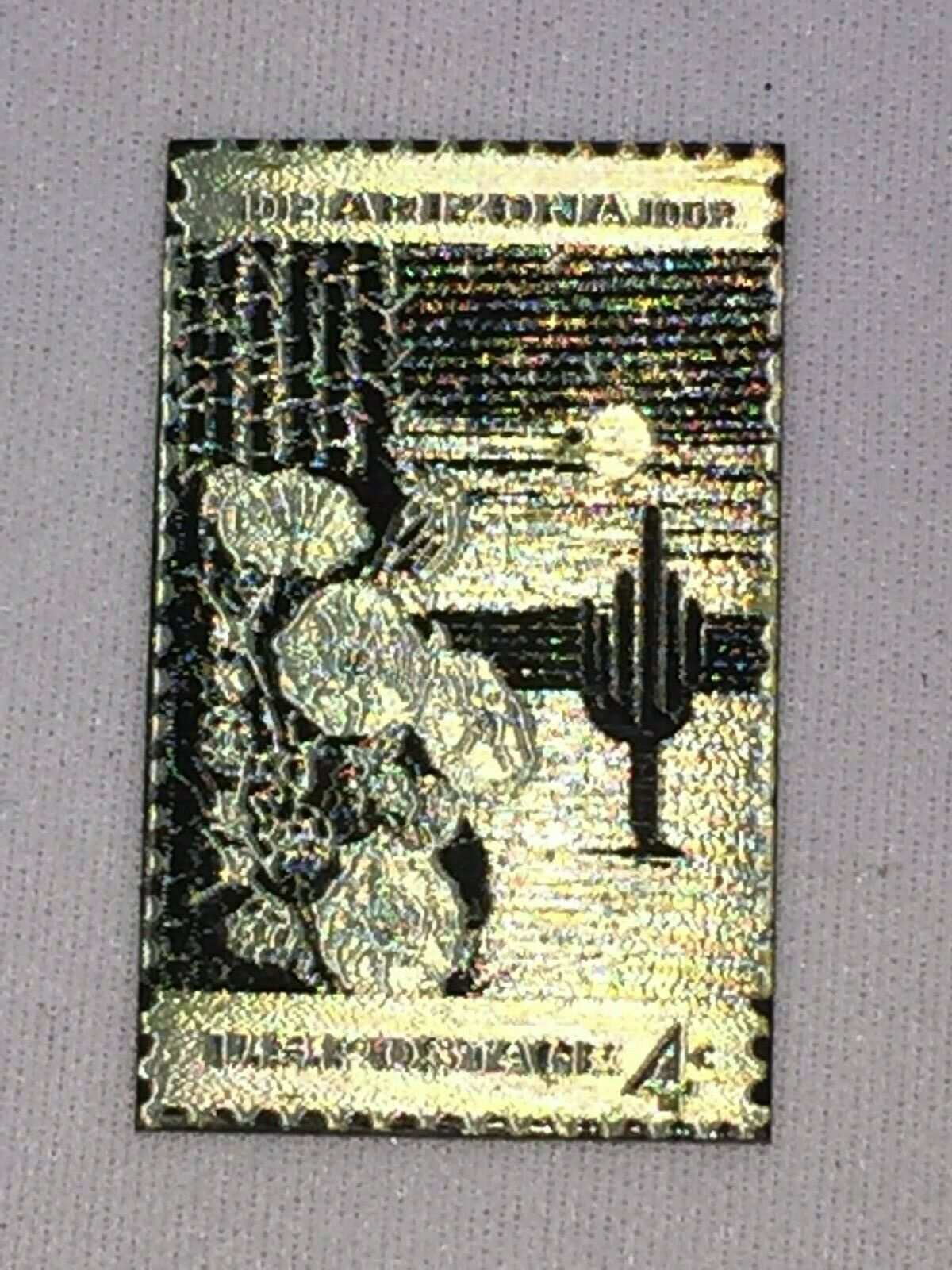 Arizona State Metal Stamp posta Ignette 26554 Postal USPS