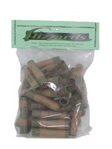 Dime Crimped End (Gunshell) Coin Wrappers, 40 pack - $6.49