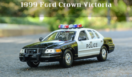 WELLY FX 1/24 alloy model,1999 Ford crown Victoria collect gifts door ca... - $43.99